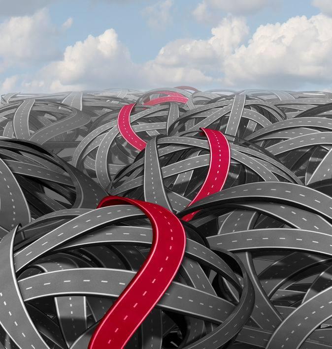 Den røde tråd - vejnet